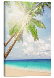 Canvas print  The sun is shining