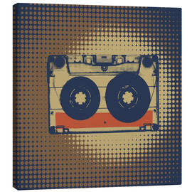 Canvas print  Retro cassette