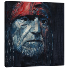 Canvas print  Always On My Mind - Willie Nelson - Paul Lovering