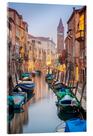 Acrylic print  Romantic Cityscape of Venice at dusk - Jan Christopher Becke