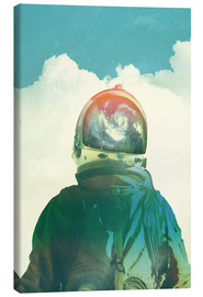 Canvas print  GOD IS AN ASTRONAUT - lacabezaenlasnubes