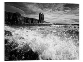 Foam board print  CastlKeis Castle, Wick, Scotland - Martina Cross