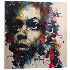 Wood  Nina Simone  : My Baby Just Cares For Me  - Paul Paul Lovering Arts