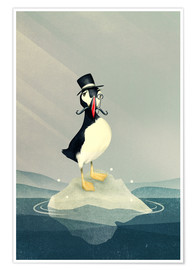 Premium poster  Lord Puffin - Romina Lutz