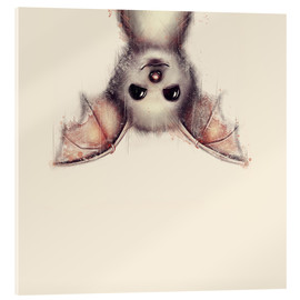 Acrylic print  Hang in there, bat - Romina Lutz