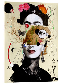 Acrylic glass  deconstructed frida - Loui Jover