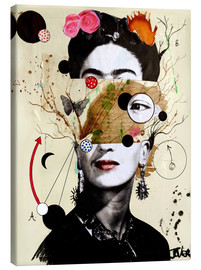Canvas  deconstructed frida - Loui Jover
