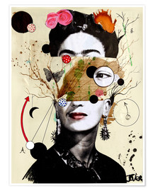 Premium poster Deconstructed Frida