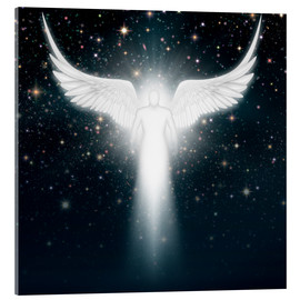 Acrylic glass  White angel