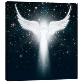 Canvas print  White angel