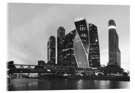 Acrylic print  Business center Moscow