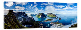 Acrylic print  The Lofoten