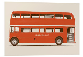 Foam board print  English Bus   S6   Main - Florent Bodart