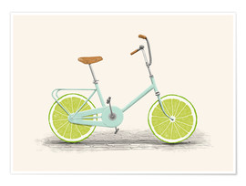 Premium poster  Lime Bike - Florent Bodart