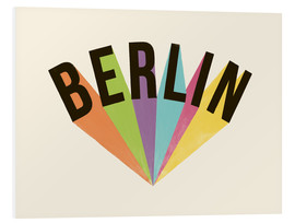 Foam board print  Berlin - Florent Bodart
