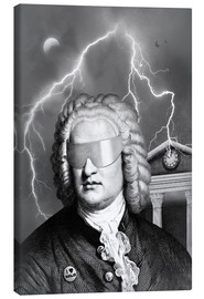 Canvas print  Bach To the Future - Florent Bodart