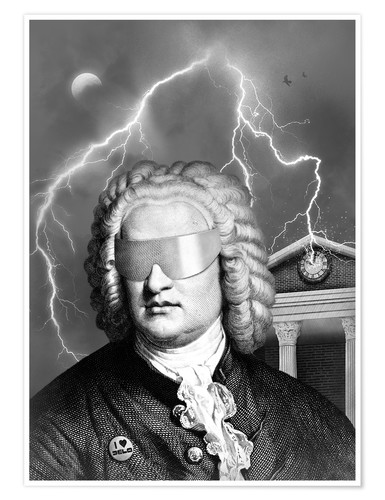 Premium poster Bach To the Future
