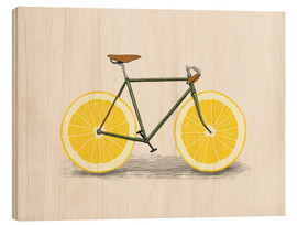 Wood print  Lemon zest - Florent Bodart