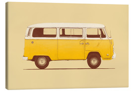 Canvas  Yellow Van - Florent Bodart