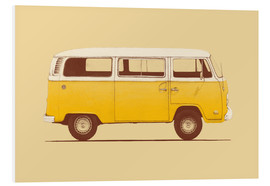 Foam board print  Yellow van - Florent Bodart