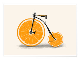 Poster  Vitamin bike - Florent Bodart