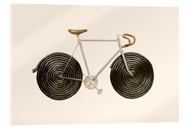 Acrylic print  Licorice Bike - Florent Bodart