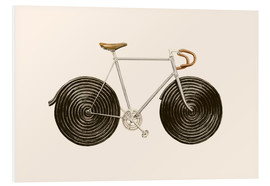 Foam board print  Licorice Bike - Florent Bodart