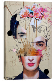 Canvas print  Frida for Beginners - Loui Jover