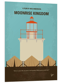 Foam board print  Moonrise Kingdom - chungkong