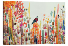 Canvas print  Joy of life - Sylvie Demers