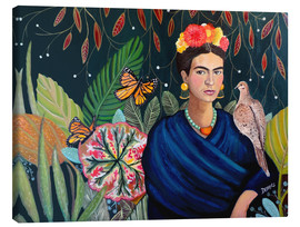 Canvas print  Frida - Sylvie Demers