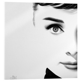 Acrylic glass  Audrey Hepburn - Ileana Hunter
