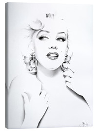 Canvas print  Marilyn Monroe - Ileana Hunter