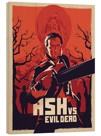 Wood  Ash Vs the evil dead - Fourteenlab