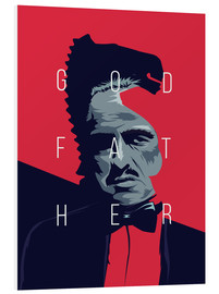 Foam board print  Godfather - Fourteenlab