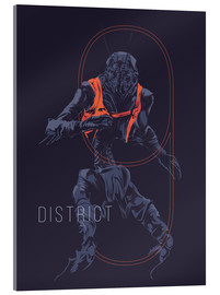 Acrylic print  District 9 - Fourteenlab