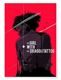 Premium poster  The Girl with The Dragon Tattoo - Fourteenlab