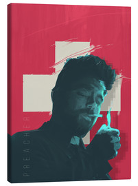 Canvas print  The Preacher - Fourteenlab