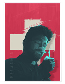 Premium poster  The Preacher - Fourteenlab