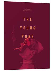 Foam board print  Young Pope - Fourteenlab