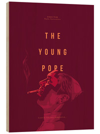 Wood print  Young Pope - Fourteenlab