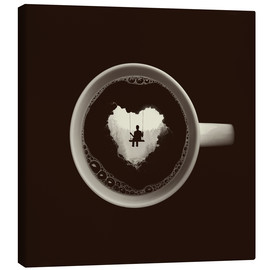 Canvas  A heart for coffee - Buko