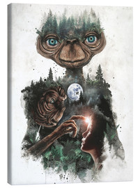 Canvas  E.T. the extra terrestrial - Barrett Biggers