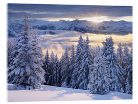 Acrylic print  Winter Dream II - Rainer Mirau