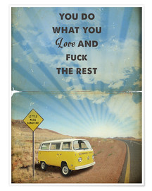 Premium poster  Little Miss Sunshine - 2ToastDesign