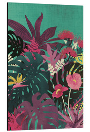 Aluminium print  Tropical tendencies - littleclyde