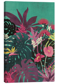 Canvas print  Tropical tendencies - littleclyde