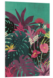 Foam board print  Tropical tendencies - littleclyde