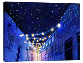 Canvas print  Night in the city - Hajin Bae
