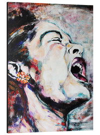 Aluminium print  Billie Holiday, I`m a Fool to Want You - Christel Roelandt